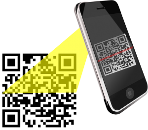 Scan the QR code with the free App